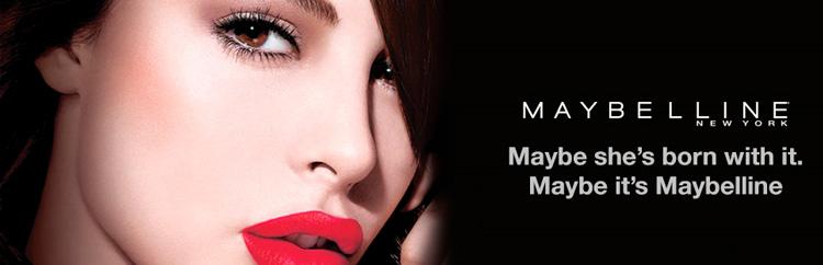 реклама maybelline