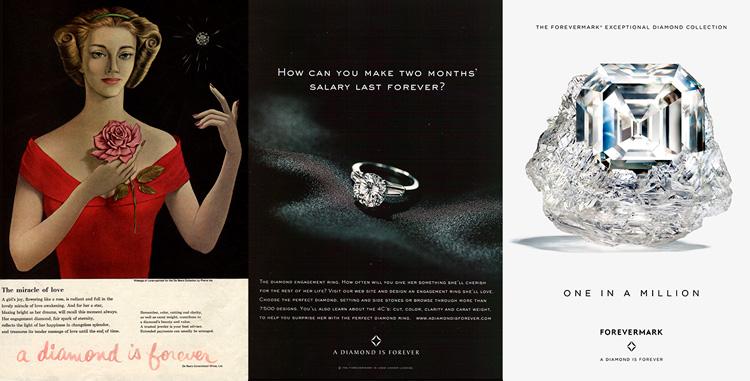 реклама бриллиантов