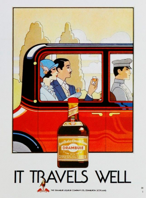 винтажная реклама алкоголя