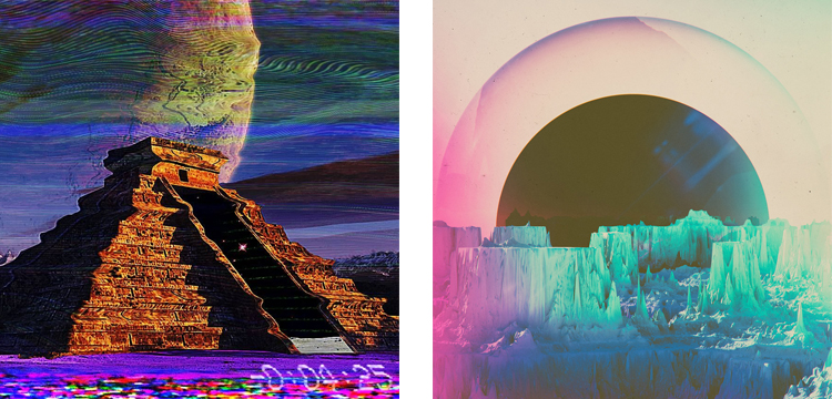 Цифровое глитч-искусство